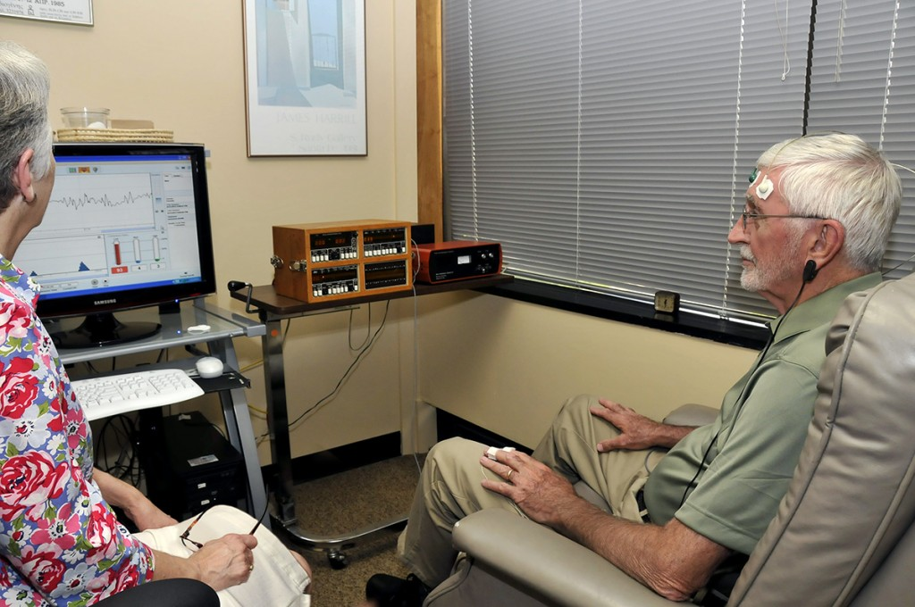 Example of Biofeedback Therapy